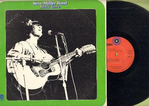 Miller, Steve Band - Rock Love: The gangster Is Back, Love Shock, Let Me Serve You, Deliverance (vinyl STEREO LP record) - NM9/VG7 - LP Records