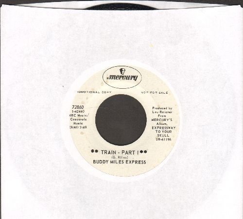 Miles, Buddy Express - Train (Parts 1 + 2) (DJ advance pressing) - NM9/ - 45 rpm Records