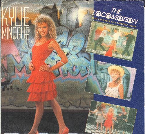 Minogue, Kylie - The Loco-Motion/I'll Still Be Loving You (with picture sleeve) - NM9/VG7 - 45 rpm Records