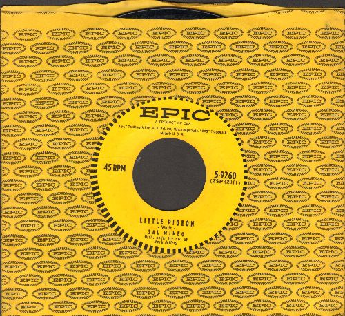 Mineo, Sal - Little Pidgeon/Cuttin' In (with vintage Epic company sleeve) - NM9/ - 45 rpm Records