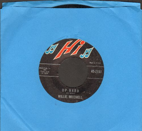 Mitchell, Willie - Up-Hard/Bealle Street Mood - EX8/ - 45 rpm Records