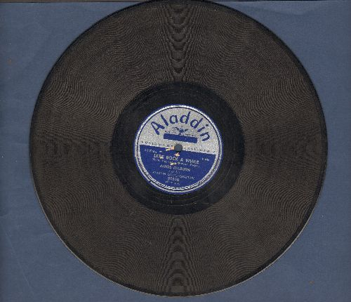 Milburn, Amos - Tears, Tears, Tears/Let's Rock A While (10 inch 78rpm record) - VG6/ - 78 rpm