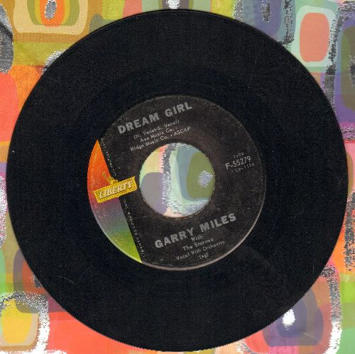 Miles, Garry - Dream Girl/Wishing Well  - EX8/ - 45 rpm Records