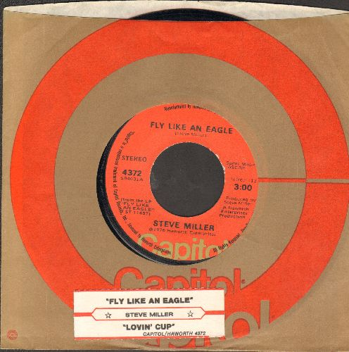 Miller, Steve - Fly Like An Eagle/Lovin' Cup (with Capitol company sleeve) - EX8/ - 45 rpm Records