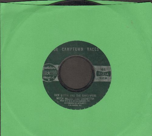 Byron, Dick & The Sandpipers - De Camptown Races/Clementine  - VG6/ - 45 rpm Records