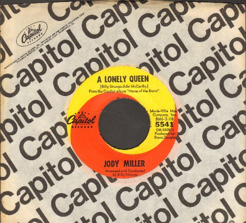 Miller, Jody - A Lonely Queen/Magic Town (with Capitol company sleeve) - NM9/ - 45 rpm Records
