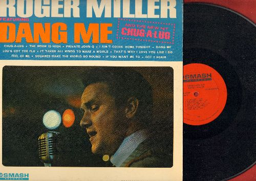 Miller, Roger - Dang Me: Chug-A-Lug, The Moon Is High, Private John Q, I Ain't Comin' Home Tonight, Squares Make The World Go Round (Vinyl MONO LP record) - NM9/EX8 - LP Records