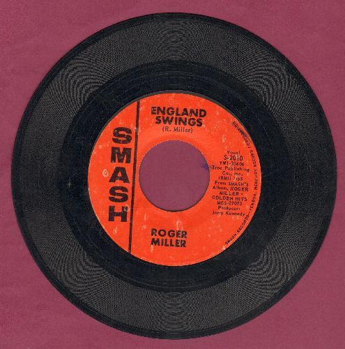 Miller, Roger - England Swings/Good Old Days - EX8/ - 45 rpm Records