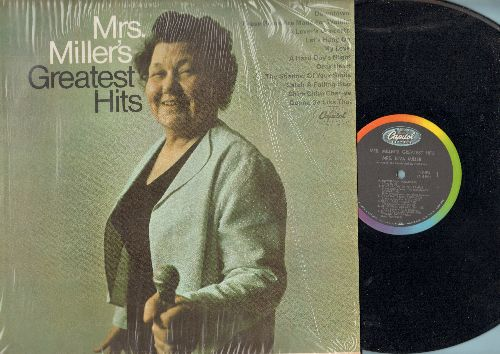 Miller, Mrs. - Greatest Hits - The Ultimate 60s Karaoke-Grandma…she's sooo bad, she's good! Absolutely HILARIOUS Phenomenon!: Downtown, These Boots Are Made For Walkin', A Lover's Concerto, My Love, Chim Chim Cher-ee, A Hard Day's Night (Vinyl MONO LP rec