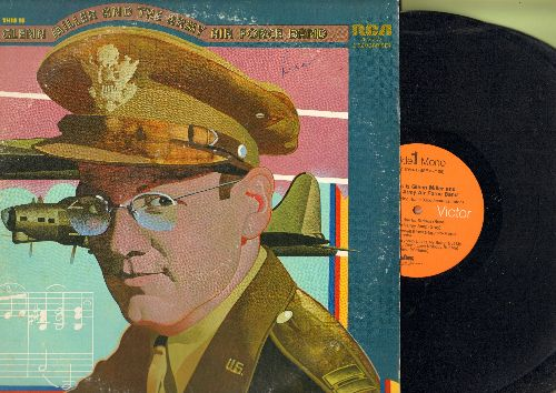 Miller, Glenn - Glenn Miller & The Army Air Force Band: Flying Home, In The Mood, Stormy Weather, Everybody Loves My Baby (2 vinyl LP record set, gate-fold cover, 1973 pressing) - NM9/VG7 - LP Records