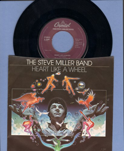 Miller, Steve Band - Heart Like A Wheel/True Fine Love (with picture sleeve) - EX8/NM9 - 45 rpm Records