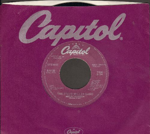 Miller, Steve Band - Abracadabra/Baby Wanna Dance (with Capitol company sleeve) - VG7/ - 45 rpm Records