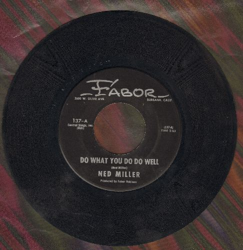 Miller, Ned - Do What You Do Do Well/Dusty Guitar (ssol) - EX8/ - 45 rpm Records