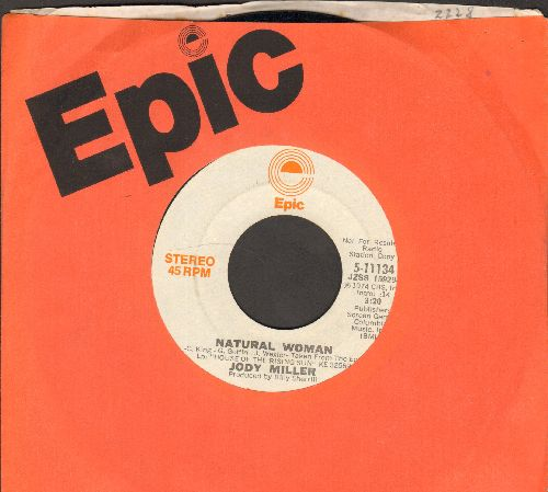 Miller, Jody - Natural Woman (double-A-sided DJ advance pressing with MONO and STEREO version, with Epic company sleeve) (minor wol) - NM9/ - 45 rpm Records
