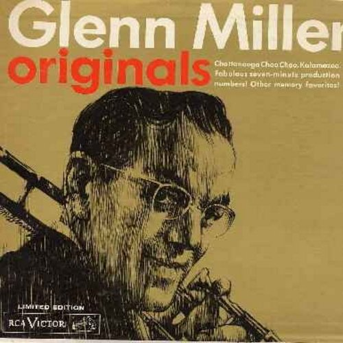 Miller, Glenn & His Orchestra - Originals: Chattanooga Choo Choo, My Blue Heaven, Over The Rainbow, The Woodpecker Song, Londonderry Air (Danny Boy), My Reverie (Vinyl LP record) - NM9/VG7 - LP Records