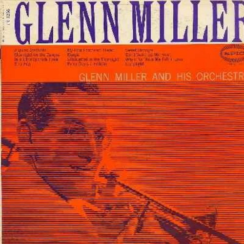 Miller, Glenn & His Orchestra - Glenn Miller: Margie, In A Little Spanish Town, My Fine Feathered Friend, Don't Wake Up My Heart, Lamplight, Why'd Ya Make Me Fall In Love, Solo Hop (Vinyl LP record1950s issue) - NM9/EX8 - LP Records