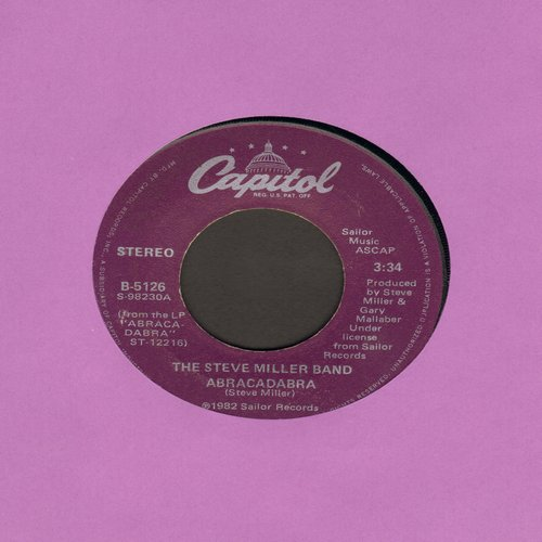 Miller, Steve Band - Abracadabra/Baby Wanna Dance - NM9/ - 45 rpm Records