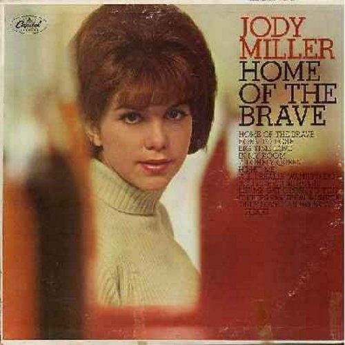 Miller, Jody - Home Of The Brave: Born To Lose, He Hit Me, Only Love Can Brwak A Heart, Your Cheatin' Heart (Vinyl MONO LP record) - VG7/VG6 - LP Records