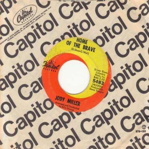 Miller, Jody - Home Of The Brave/This Is The Life (with Capitol company sleeve) - EX8/ - 45 rpm Records