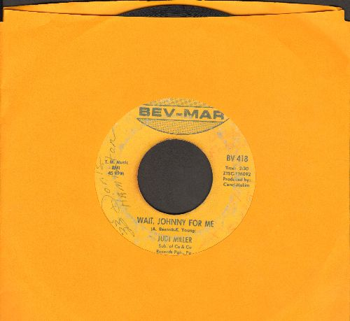 Miller, Jodi - Wait, Johnny For Me/Do You Know About Love - VG7/ - 45 rpm Records
