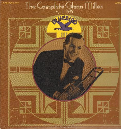 Miller, Glenn - The Complete Glenn Miller Vol. 2 1939 (2 vinyl LP record set, gate-fold cover): Ding-Dong! The Witch Is Dead, Over The Rainbow, In The Mood, I Want To Be Happy, more! - NM9/EX8 - LP Records