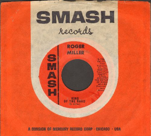 Miller, Roger - King Of The Road/Atta Boy Girl (with Smash company sleeve) - EX8/ - 45 rpm Records
