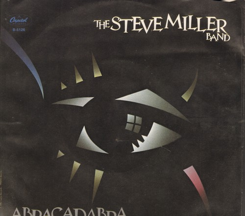 Miller, Steve Band - Abracadabra/Baby Wanna Dance (MINT condition with picture sleeve) - NM9/EX8 - 45 rpm Records
