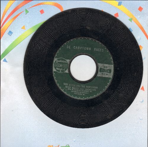 Bryon, Charles & The Sanspipers - De Camptown Races (Doo-Dah Doo-Dah Day)/Clementine - VG7/ - 45 rpm Records