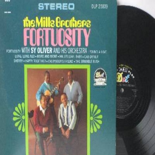 Mills Brothers - Fortuosity: Happy Together, Cab Driver, Sherry, I Found A Love (Vinyl STEREO LP record) - NM9/EX8 - LP Records