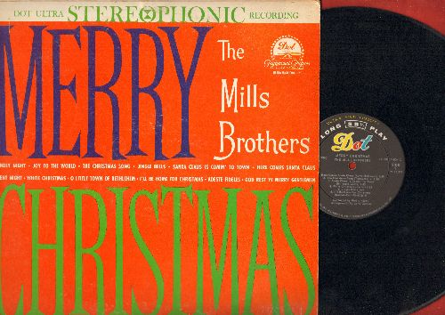 Mills Brothers - Merry Christmas: Santa Claus Is Comin' To Town, The Christmas Song, Here Comes Santa Claus, Silent Night, White Christmas (Vinyl STEREO LP record) - VG7/VG6 - LP Records
