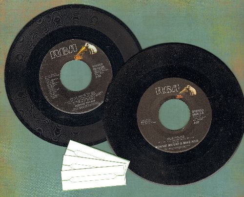 Milsap, Ronnie - 2 for 1 Special: He'll Have To Go/Old Folks (2 vinyl 45rpm records for the price of 1!) - EX8/ - 45 rpm Records