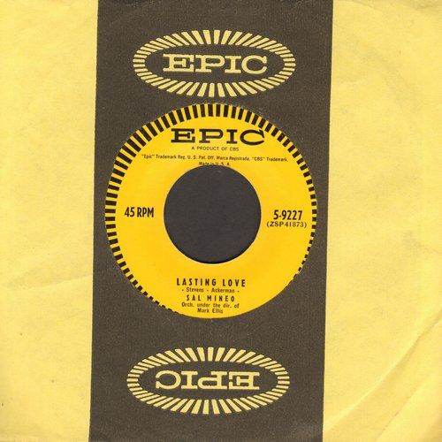Mineo, Sal - Lasting Love/You Shouldn't Do That (with Epic company sleeve) - NM9/ - 45 rpm Records