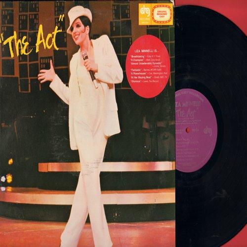 Minnelli, Liza - Liza Minelli Is…The Act - Original Cast Recording (Vinyl STEREO LP record, DJ advance pressing) - NM9/EX8 - LP Records