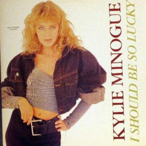Minogue, Kylie - I Should Be So Lucky - 12 inch vinyl MAXI SINGLE featuring 3 extended Dance Versions, with picture cover - M10/NM9 - Maxi Singles