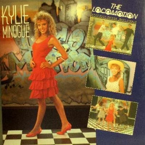 Minogue, Kylie - The Loco-Motion - 12 inch vinyl Maxi Single featuring 3 different exteneded versions of the hit + I'll Still Be Loving You  - EX8/NM9 - LP Records