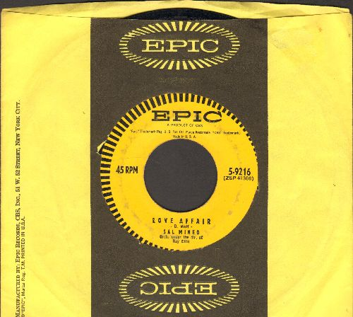 Mineo, Sal - Love Affair/Start Movin' (In My Direction)(with Epic company sleeve) - EX8/ - 45 rpm Records