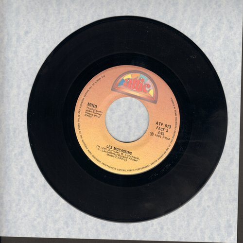 Mino - Les Mocassins/Reggae (Canadian Pressing, sung in French) - NM9/ - 45 rpm Records