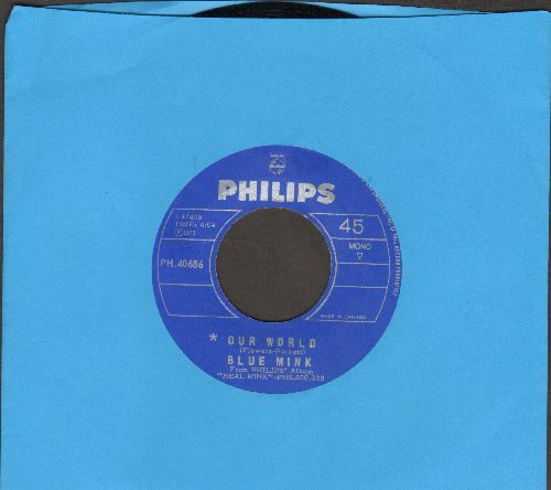 Blue Mink - Our World/Respects To Mr. Jones (Canadian Pressing) - NM9/ - 45 rpm Records