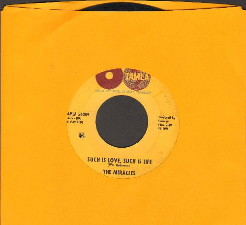 Miracles - Such Is Love, Such Is Life/I Gotta Dance To Keep From Crying (bb) - VG7/ - 45 rpm Records