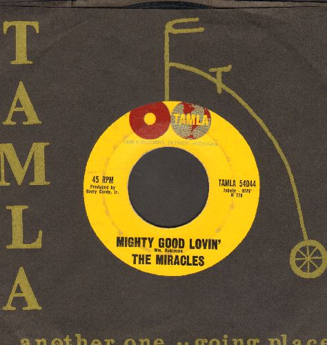 Miracles - Mighty Good Loving/Broken Hearted (with vintage Motown company sleeve) - EX8/ - 45 rpm Records
