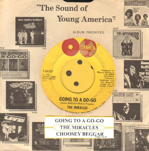 Miracles - Going To A Go-Go/Choosey Beggar - VG7/ - 45 rpm Records