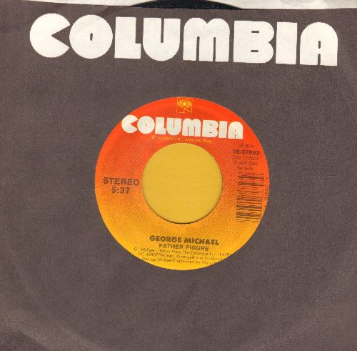 Michael, George - Father Figure/Father Figure (Instrumental) (with Columbia company sleeve) - NM9/ - 45 rpm Records