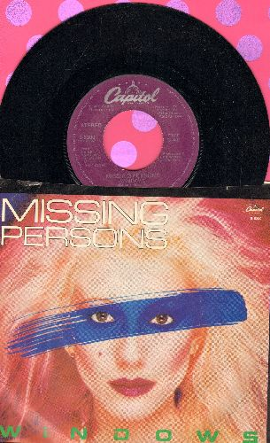 Missing Persons - Windows/Rock And Roll Suspension (with picture sleeve) - NM9/EX8 - 45 rpm Records