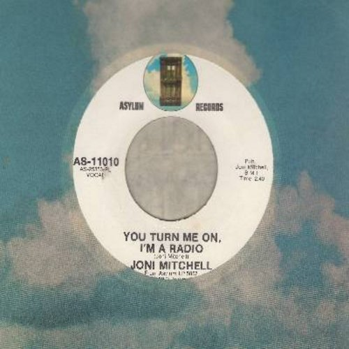 Mitchell, Joni - You Turn Me On, I'm A Radio/Urge For Going (with Asylum company sleeve) - NM9/ - 45 rpm Records