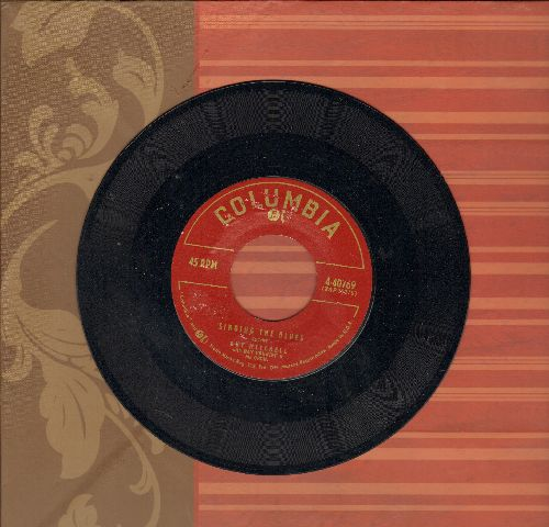 Mitchell, Guy - Singing The Blues/Crazy With Love (FANTASTIC over-looked flip-side) - NM9/ - 45 rpm Records
