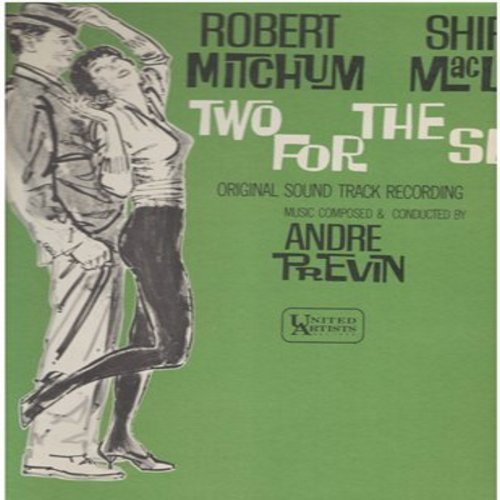 Previn, Andre - Two For The See Saw - Original Sound Track Recording - Music composed & conducted by Andre Previn (Vinyl MONO LP record) - M10/NM9 - LP Records