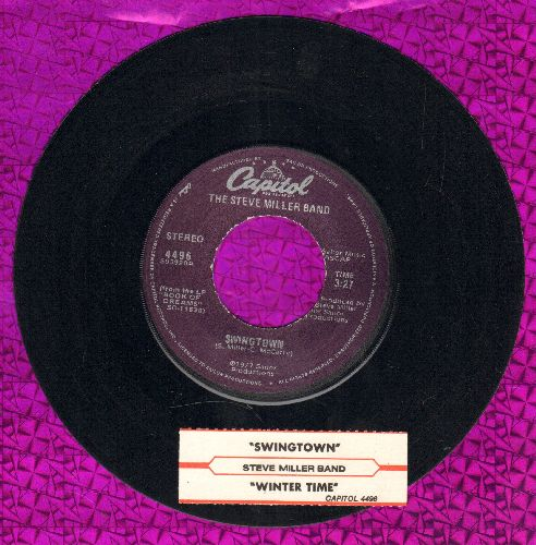 Miller, Steve Band - Swingtown/Winter Time (with juke box label) - EX8/ - 45 rpm Records