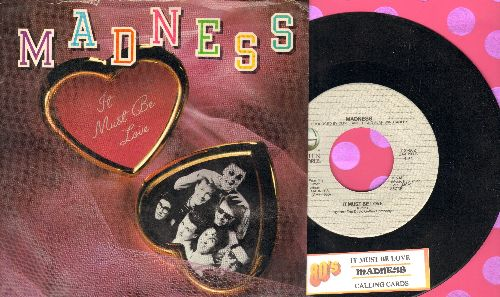 Madness - It Must Be LoveCalling Cards (with juke box label and picture sleeve) - NM9/EX8 - 45 rpm Records