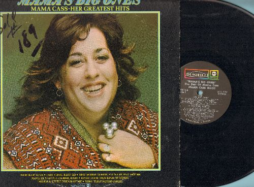 Mama Cass - Mama's Big Ones: Words Of Love, It's Getting Better, Make Your Own Kind Of Music, Dream A Little Dream Of Me, Easy Come Easy Go (Vinyl STEREO LP record, woc) - NM9/VG7 - LP Records