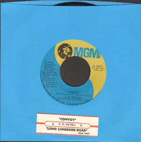 McCall, C. W. - Convoy/Long Lonesome Road (with juke box label) - NM9/ - 45 rpm Records